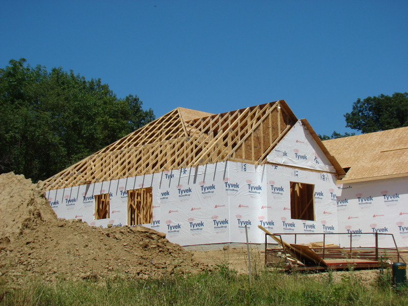 new construction outline building a home building a house